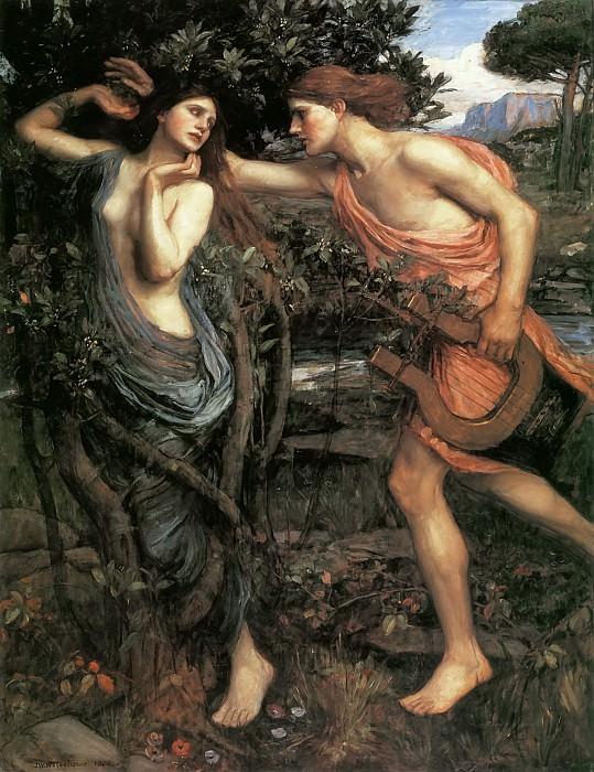 Apollo and Daphne. John William Waterhouse