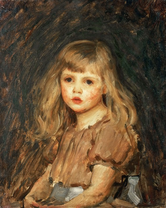 Портрет девочки. Джон Уильям Уотерхаус