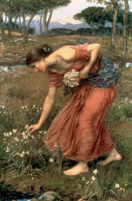 Narcissus. John William Waterhouse