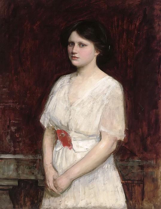 Portrait of Miss Claire Kenworthy. John William Waterhouse