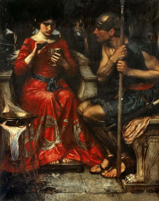 Jason and medea. John William Waterhouse