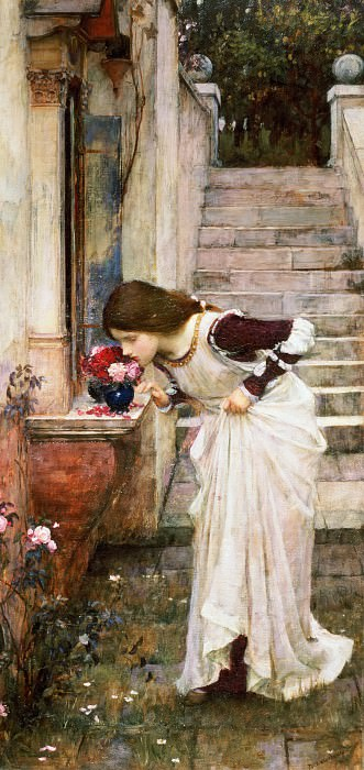 The Shrine. John William Waterhouse