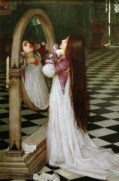 Марианна перед зеркалом. Джон Уильям Уотерхаус