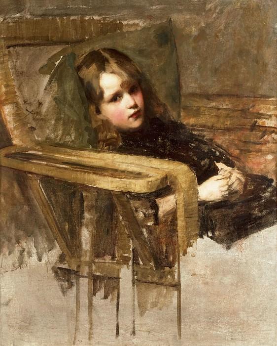 The Easy Chair. John William Waterhouse