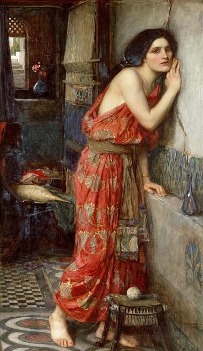 Thisbe. John William Waterhouse