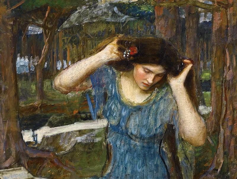 A STUDY FOR LAMIA. John William Waterhouse