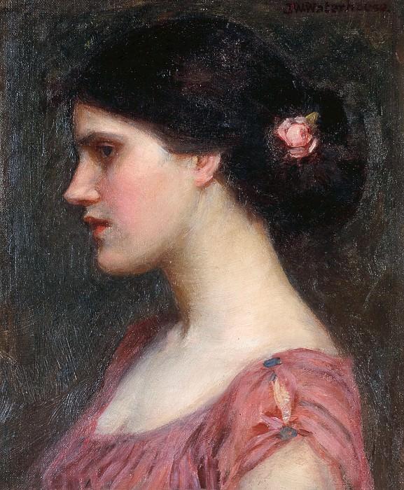 Portrait of a Girl. John William Waterhouse
