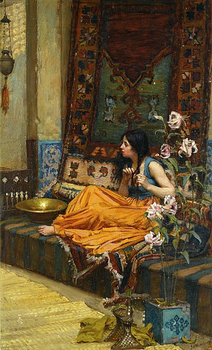 In the Harem. John William Waterhouse