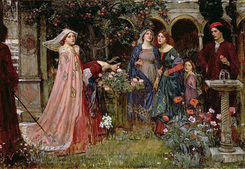 Волшебный сад. Джон Уильям Уотерхаус