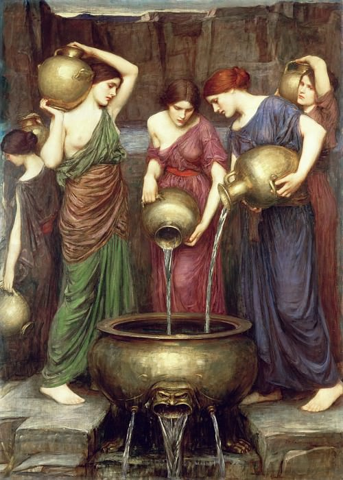 The Danaides. John William Waterhouse