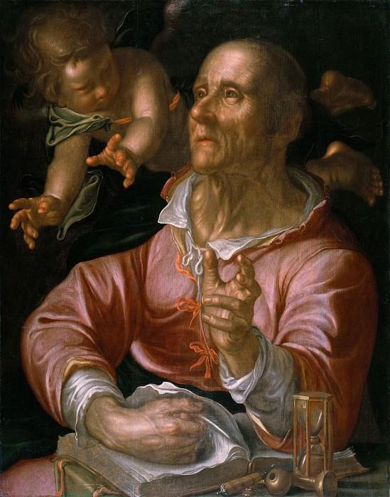 Saint Matthew. Joachim Wtewael