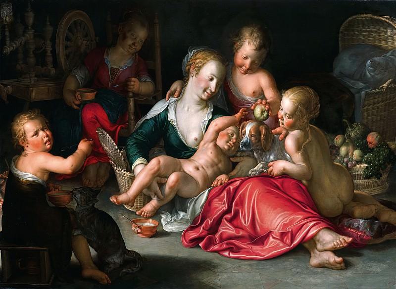 Caritas. Joachim Wtewael