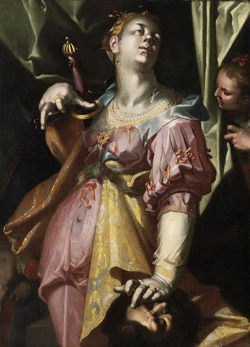 Judith with the Head of Holofernes. Joachim Wtewael