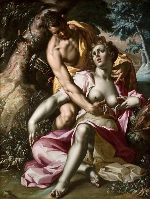 The Death of Procris. Joachim Wtewael