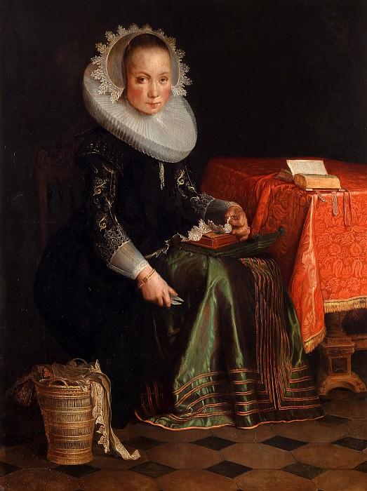 Portrait of Eva Wtewael (1607-1635). Joachim Wtewael