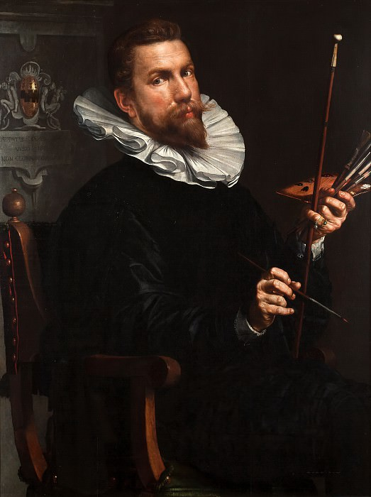 Self-portrait. Joachim Wtewael
