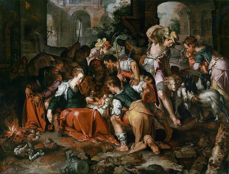 The Adoration of the Shepherds. Joachim Wtewael