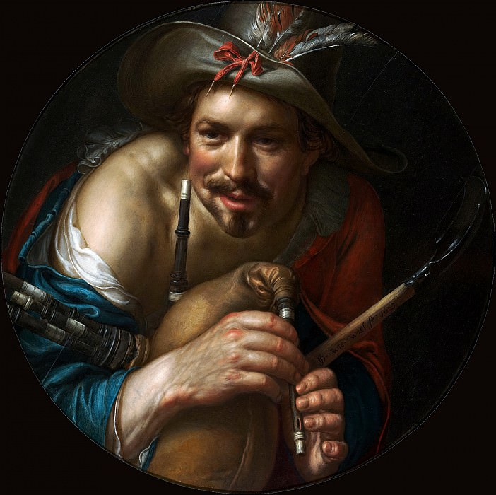 A Shepherd. Joachim Wtewael