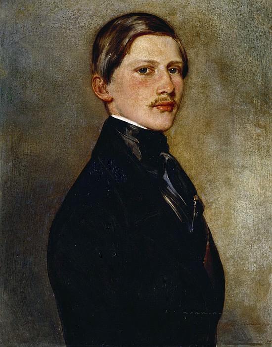 Prince Frederick William of Prussia (1831-88). Franz Xavier Winterhalter