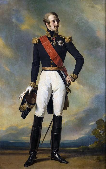Louis-Charles-Philippe d´Orleans, duc de Nemours. Franz Xavier Winterhalter