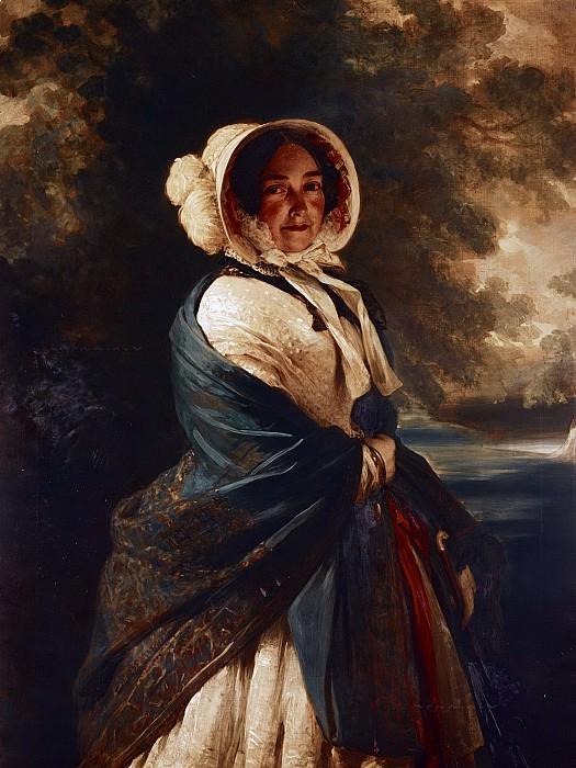 Victoria, Duchess of Kent (1786-1861). Franz Xavier Winterhalter