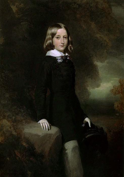 Leopold, Duke of Brabant. Franz Xavier Winterhalter