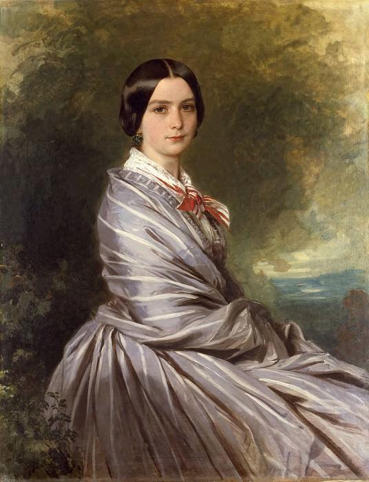 Mme Augusta Wichrow. Franz Xavier Winterhalter