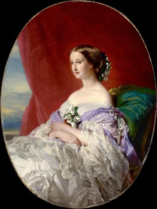 Empress Eugenie. Franz Xavier Winterhalter