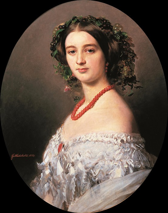 Maria Louise of Wagram Princess of Murat. Franz Xavier Winterhalter