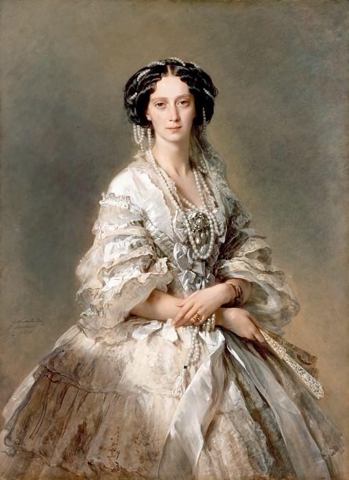 The Empress Maria Alexandrovna. Franz Xavier Winterhalter