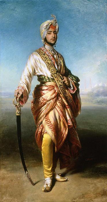 The Maharajah Duleep Singh. Franz Xavier Winterhalter