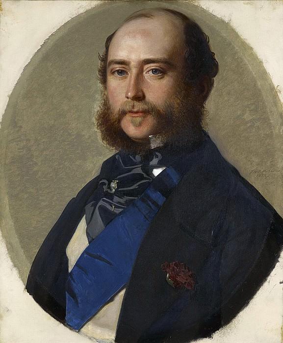 George, Duke of Cambridge (1819-1904). Franz Xavier Winterhalter