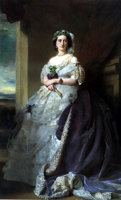 Portrait of Lady Middleton (1824-1901). Franz Xavier Winterhalter