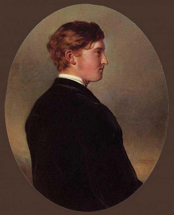William Douglas Hamilton, 12th Duke of Hamilton. Franz Xavier Winterhalter