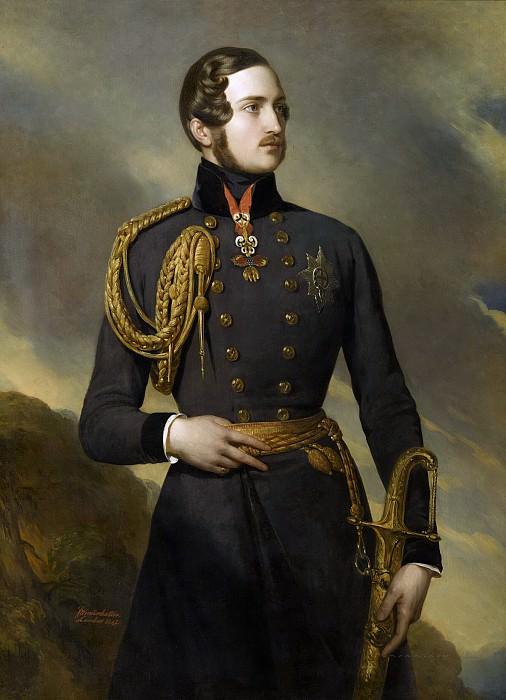 Albert de Saxe-Cobourg-Gotha, prince consort. Franz Xavier Winterhalter