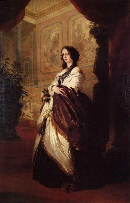 Harriet Howard, Duchess of Sutherland. Franz Xavier Winterhalter