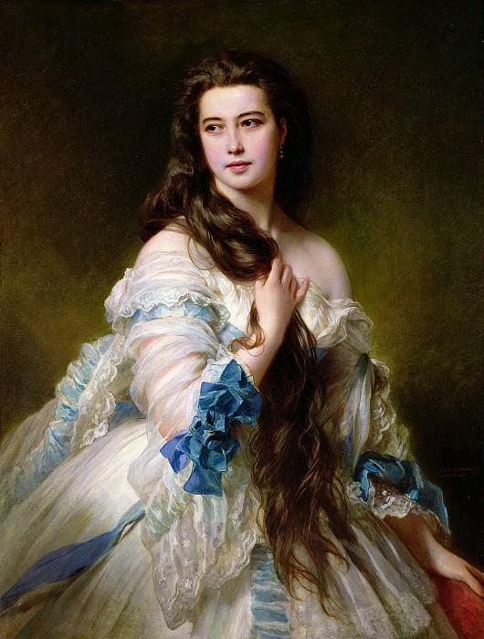 Варвара Дмитриевна Римская-Корсакова (1834-1879). Франц Ксавьер Винтерхальтер