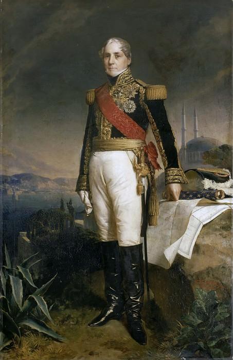 Francois-Horace, comte Sebastiani, marechal de France. Franz Xavier Winterhalter
