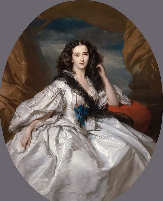 Wienczyslawa Barczewska, Madame de Jurjewicz. Franz Xavier Winterhalter