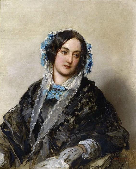 Frances, Countess of Gainsborough (1814-1885). Franz Xavier Winterhalter