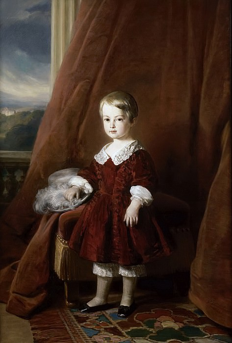 Prince Gaston d´Orleans, comte d´Eu (1842-1922). Franz Xavier Winterhalter