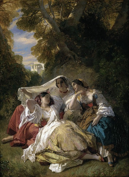 LA SIESTA. Franz Xavier Winterhalter