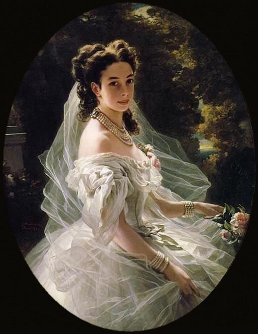 Pauline Sandor, Princess Metternich. Franz Xavier Winterhalter