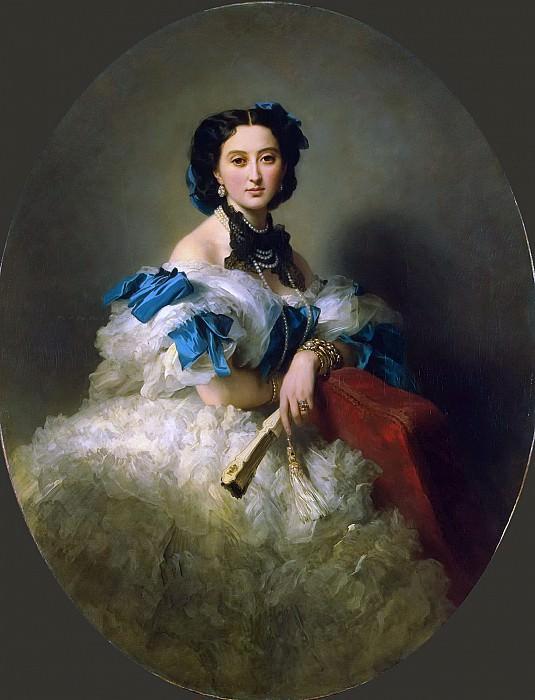 Countess Varvara Alekseyevna Musina-Pushkina. Franz Xavier Winterhalter