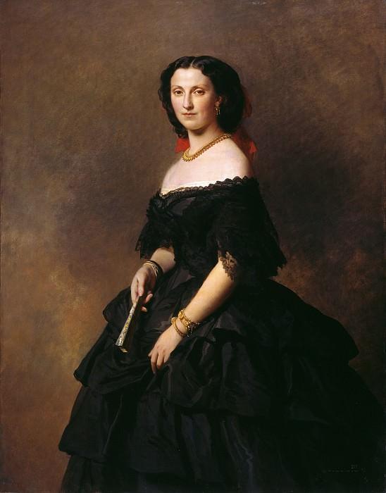 Portrait of Princess Bariatinskaya. Franz Xavier Winterhalter