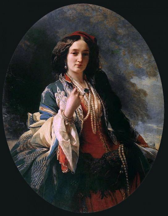 Katarzyna Branicka. Franz Xavier Winterhalter