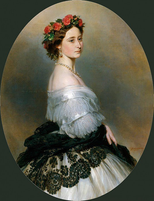 Princess Alice. Franz Xavier Winterhalter
