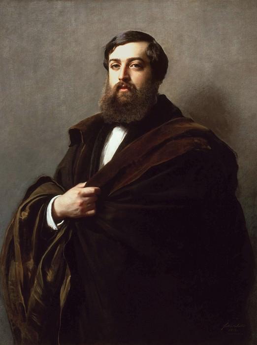 Alfred Emilien, Comte de Nieuwerkerke. Franz Xavier Winterhalter