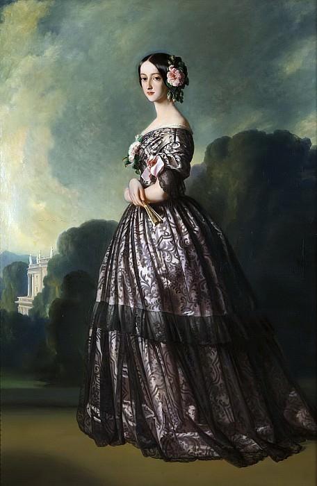 Francoise-Caroline de Bourbon-Bragance, princesse de Joinville. Franz Xavier Winterhalter