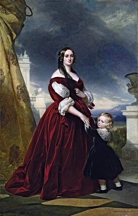 Portrait of the Countesse Duchapel. Franz Xavier Winterhalter